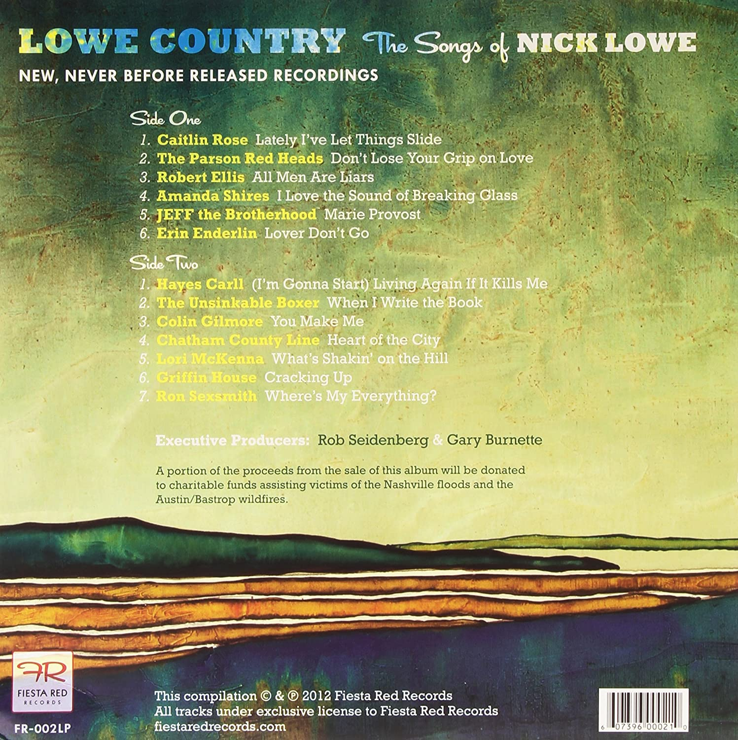 Lowe Country The Songs of Nick Lowe : Various Artists: Amazon ...