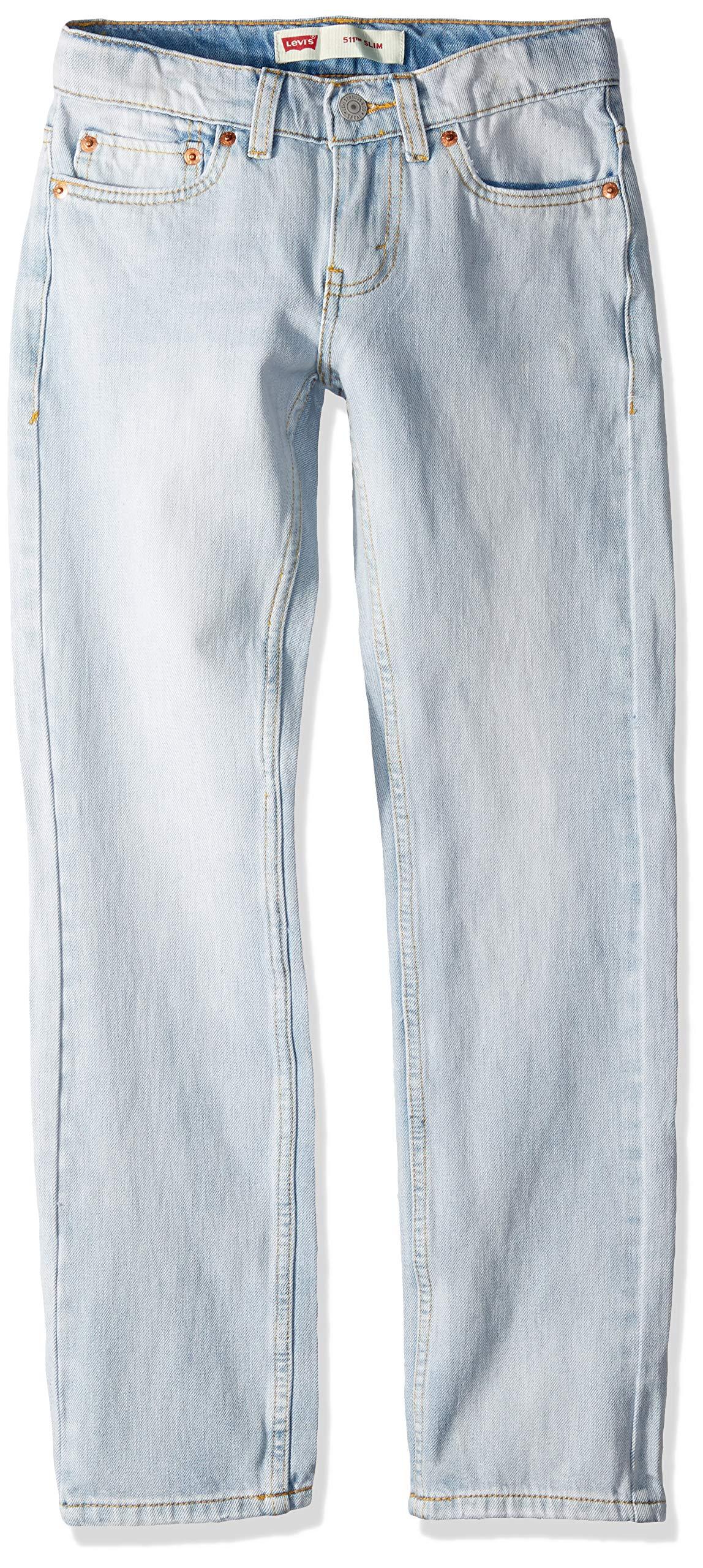 Levi's Boys' Big 511 Slim Fit Performance Jeans, Abbot Kinney, 12