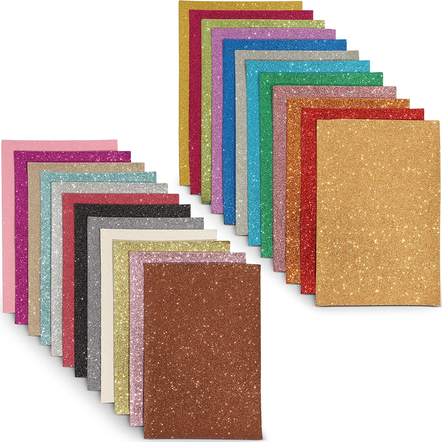 1 mm thick Soft Mixed Upholstery Leather Craft Pack 5 pieces of 20 x 15 cm