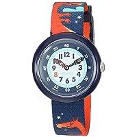 Kids' Mystical Woods Quartz Polyester Strap, Blue, 14 Casual Watch (Model: ZFBNP144)