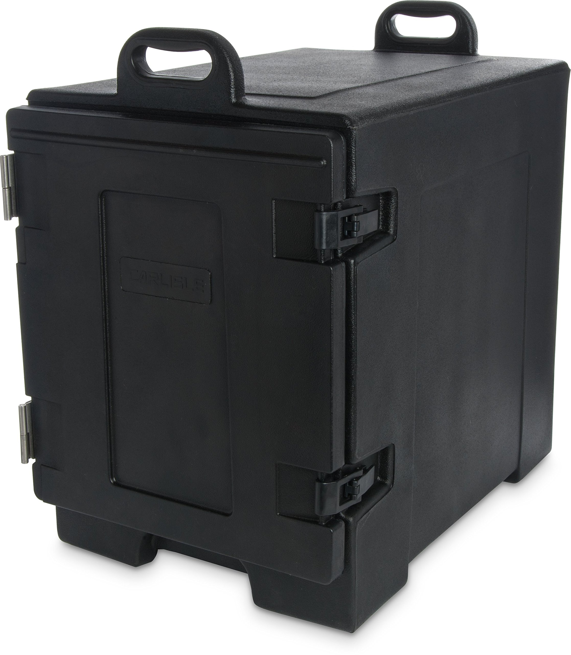 Carlisle PC300N03 Cateraide End-Loading Insulated Food Pan Carrier, 5 Pan Capacity, Black