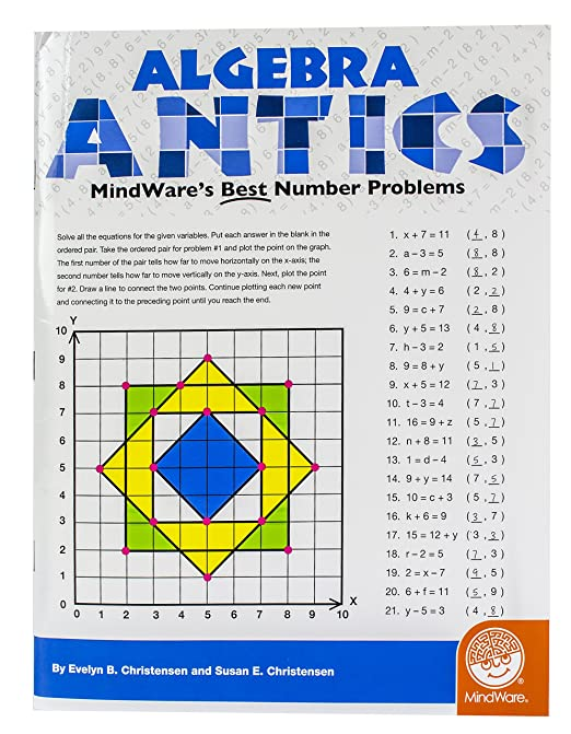 Amazon.com: Algebra Antics: MindWare's Best Number Problems ...