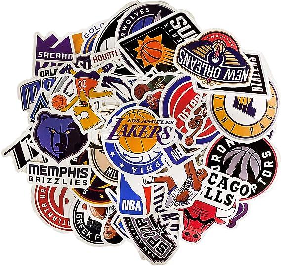 NBA Sticker Set