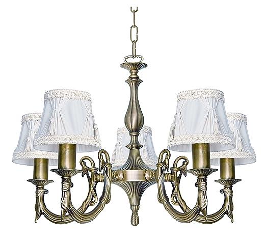 Premium lámpara luz de techo de latón de bronce estilo ...