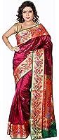 Aruna Fashions Self Design Paithani Art Silk Saree