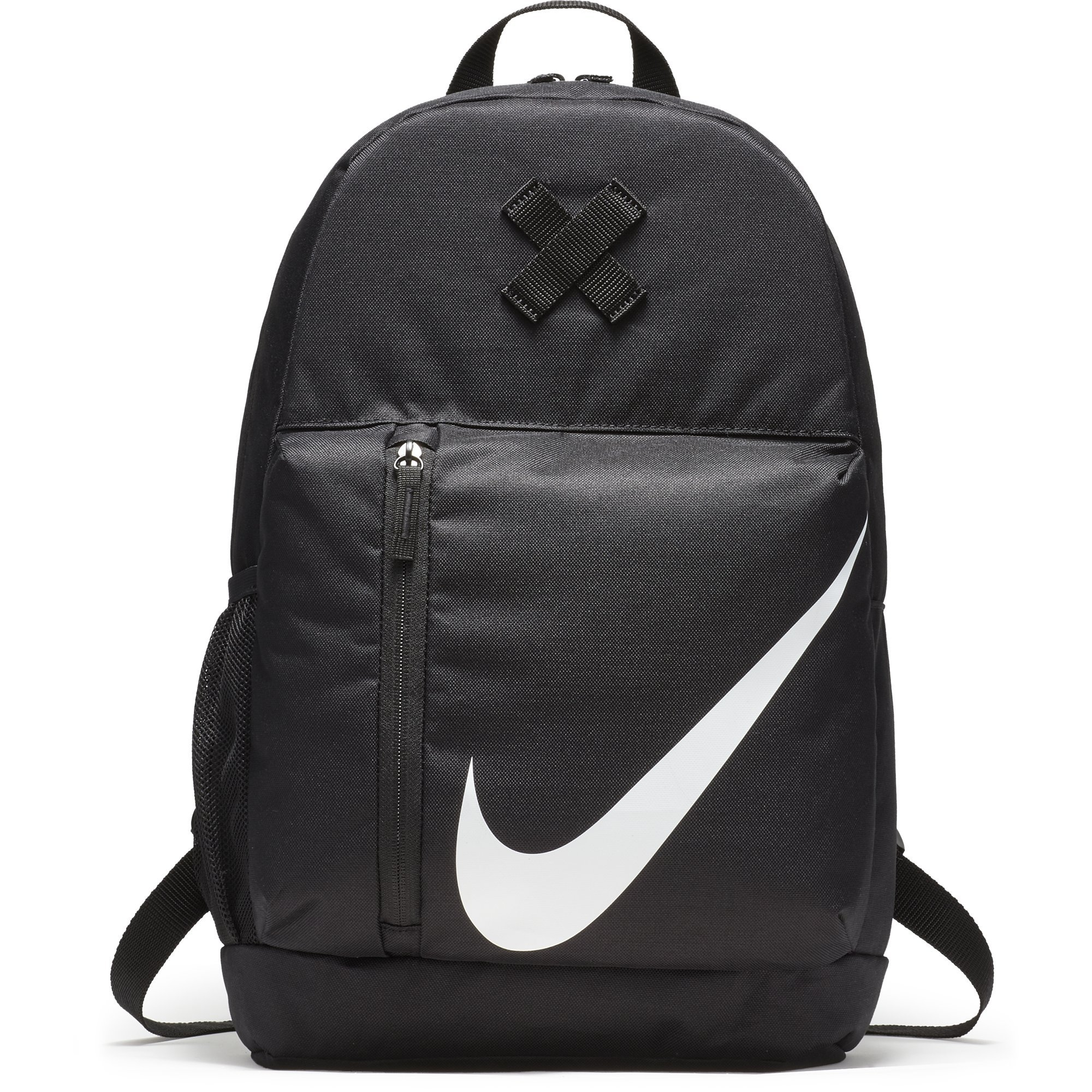 NIKE Kids' Elemental Backpack, Black/Black/White, One Size