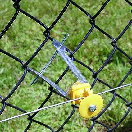 3 Pk Dare Snug Chain Link U-Post Electric Fence Insulator 25//Pk SNUG-SU-25