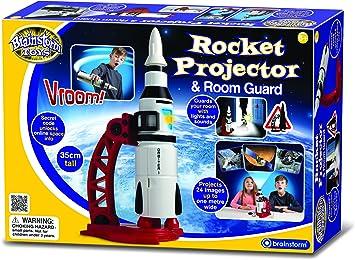 Brainstorm Toys Rocket Proyector y Protector de habitación ...