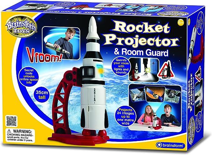 Brainstorm Toys Rocket Proyector y Protector de habitación: Amazon ...