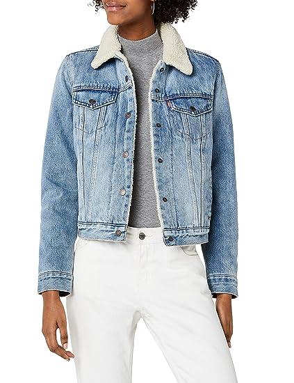 Vestes en jean femme sans col Levi's comparez et achetez