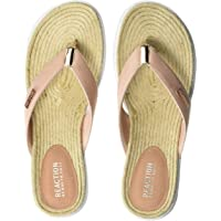 Kenneth Cole Reaction Womens RLS9057ME The Ready Thong Sport Sandal Espadrille Sock
