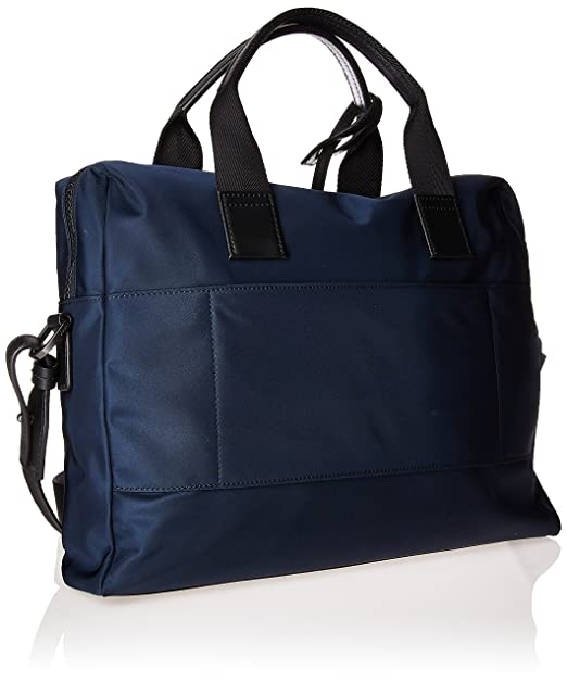 8921dada033 Amazon.com: HUGO by Hugo Boss Men's Capital Nylon Workbag, dark blue, One  Size: Clothing