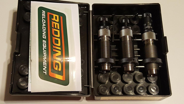 40 S/&W//10MM Auto 66253 Redding Reloading Premium Handgun Die Set