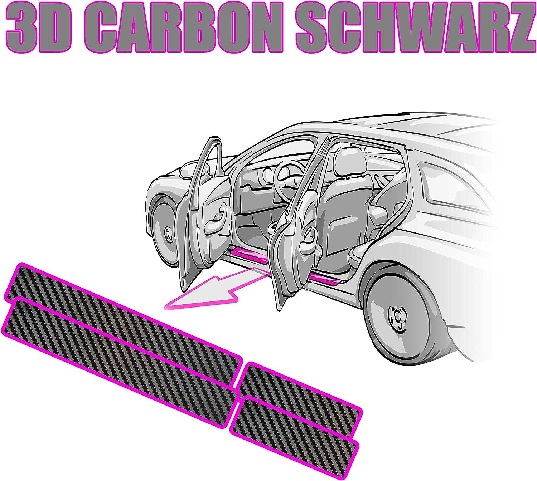 Anleitung Lackschutzfolie 3D Carbon Schwarz Schutzfolie von WIZUALS/© Einstiegsleisten Rakel
