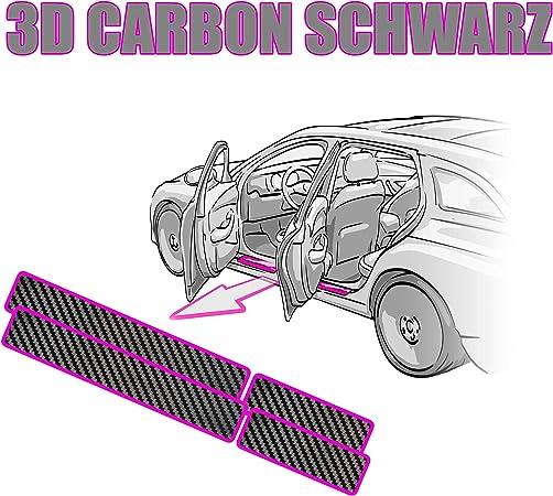 Tigra Twintop Einstiegsleisten Rakel Anleitung Lackschutzfolie 3d Carbon Schwarz Folie Passend Für Tigra Twintop Schutzfolie Von Ccw Auto