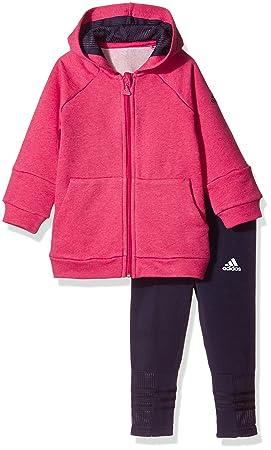 Adidas I Girls Set Chándal, Niños: Amazon.es: Deportes y aire libre
