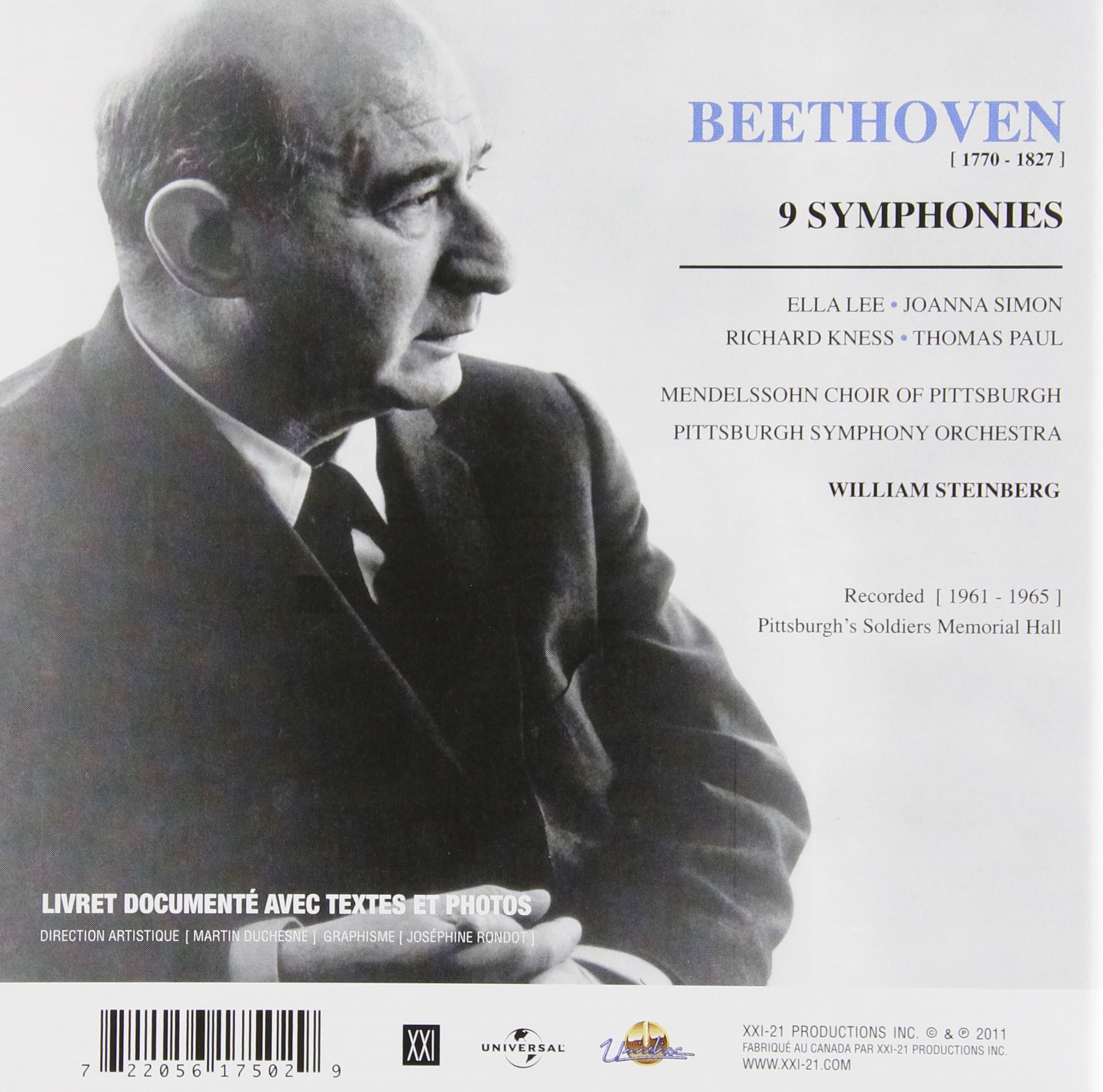 Beethoven: 9 Complete Symphonies by XXI