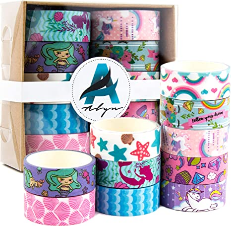 FREE SHIPPING Unicorn Washi Tapes Planner Tape Diary Scrapbooking