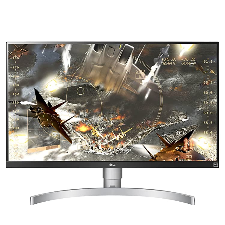 "G 27UK650-W 27"" 4K UHD IPS Monitor with HDR10 and AMD FreeSync Technology (2018)"