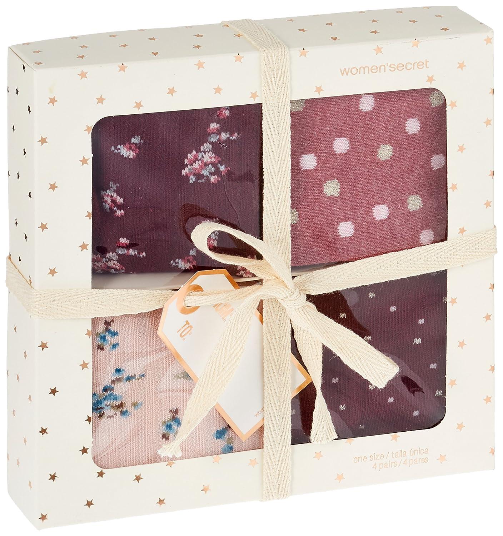 Womensecret 4482530, Calcetines para Mujer, Varios colores, One Size (Tamaño del Fabricante:U): Amazon.es: Ropa y accesorios