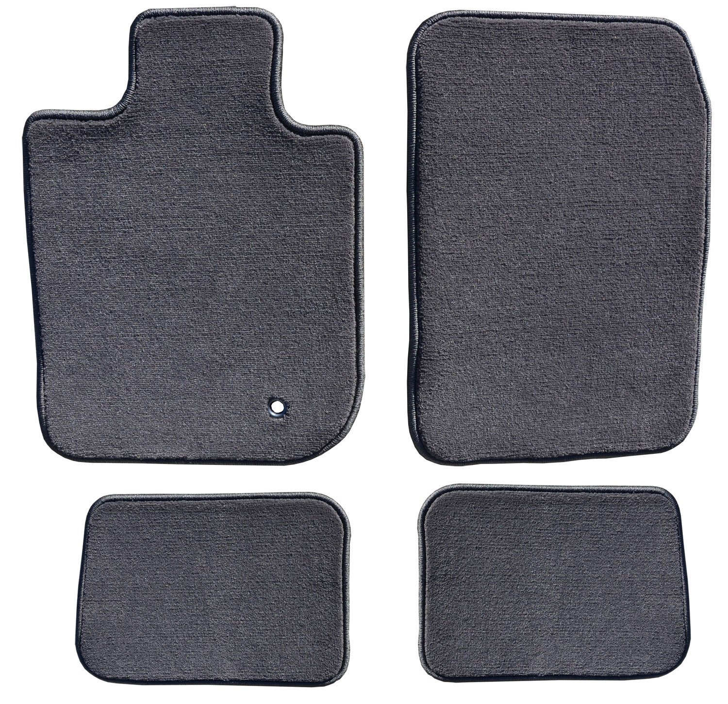 Charcoal GG Bailey D4476A-S1A-CC-CHAR Two Row Custom Fit Car Mat Set for Select Ford Focus Models Polypropylene Fiber