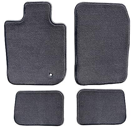 f9c0bbf96fe Amazon.com  GG Bailey D4754A-S2A-CC-CHAR Two Row Set Custom Fit Floor Mats  For Select Hyundai Santa Fe Models - Polypropylene Fiber (Charcoal)   Automotive