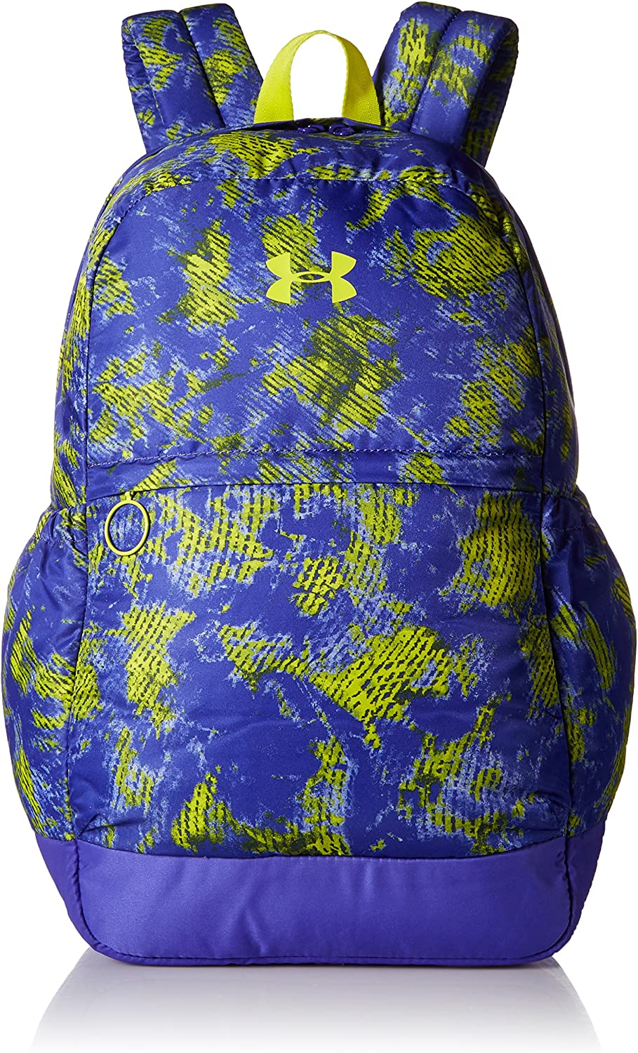 Under Armour Women's UA Backpack Youth Constellation Purple Lucid Lime Backpack