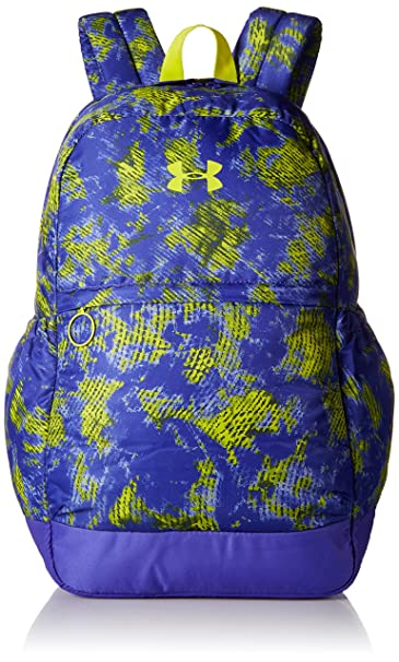 615af588208d Under Armour Women s UA Backpack (Youth) Constellation Purple Lucid Lime  Backpack
