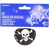 lot de 12 cache oeil pirate