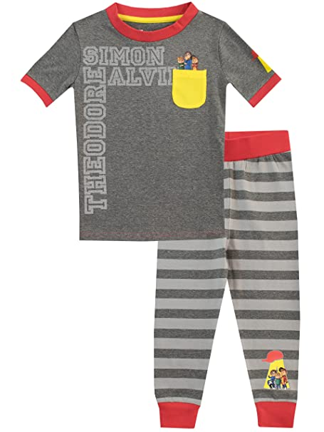 Alvin and The Chipmunks Pijama para Niños Theodore Simon: Amazon.es: Ropa y accesorios