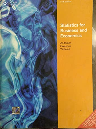 Statistics For Business And Economics 11th Edition Paperback International Edition