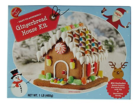 Amazon Com Create A Treat Gingerbread House Kit With Decorating