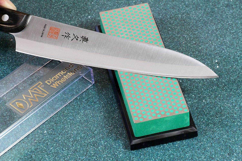 15,2 cm // 6 Zoll W6EP DMT Diamond Whetstone Wetzstein 1 St/ück extrafein mit Plastikbox