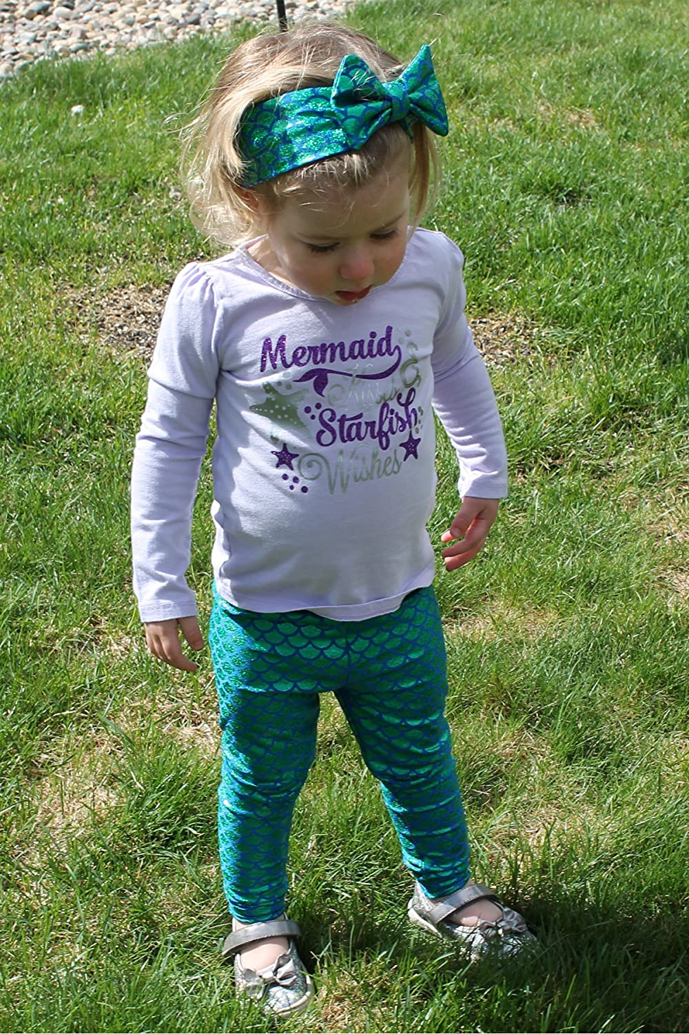 Mermaid Outfit For Toddler Girl
