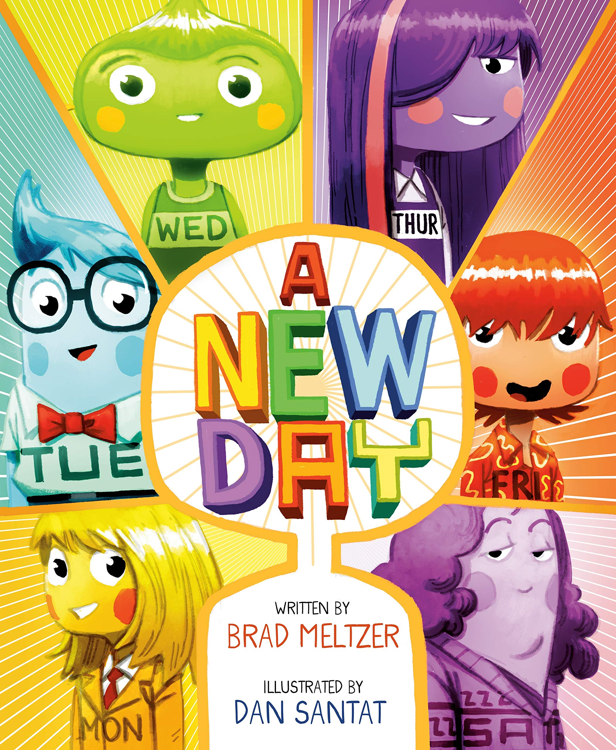 Amazon.com: A New Day (9780525554240): Meltzer, Brad, Santat, Dan: Books
