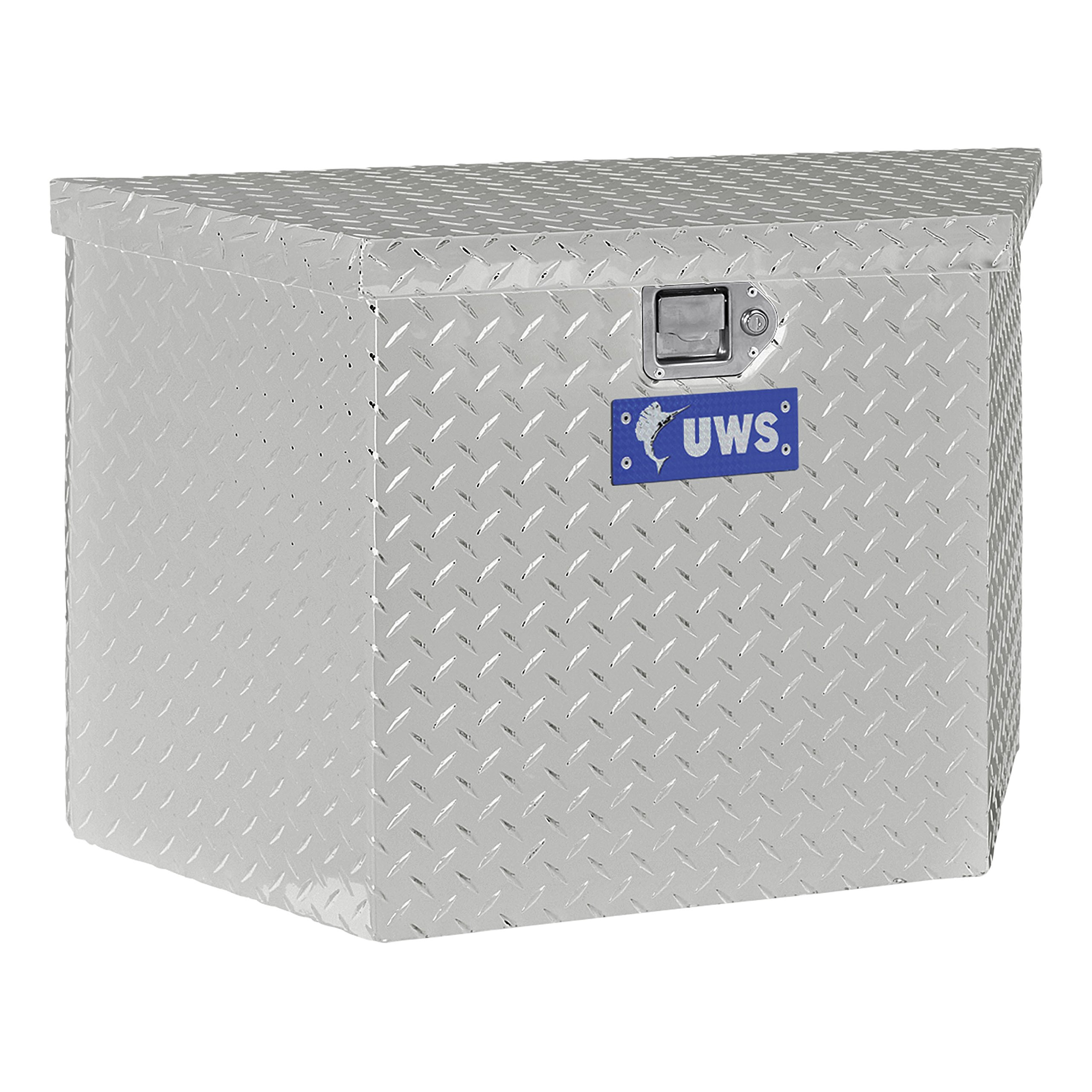 UWS EC20431 49-Inch Storage Aluminum Trailer Tongue Tool Box