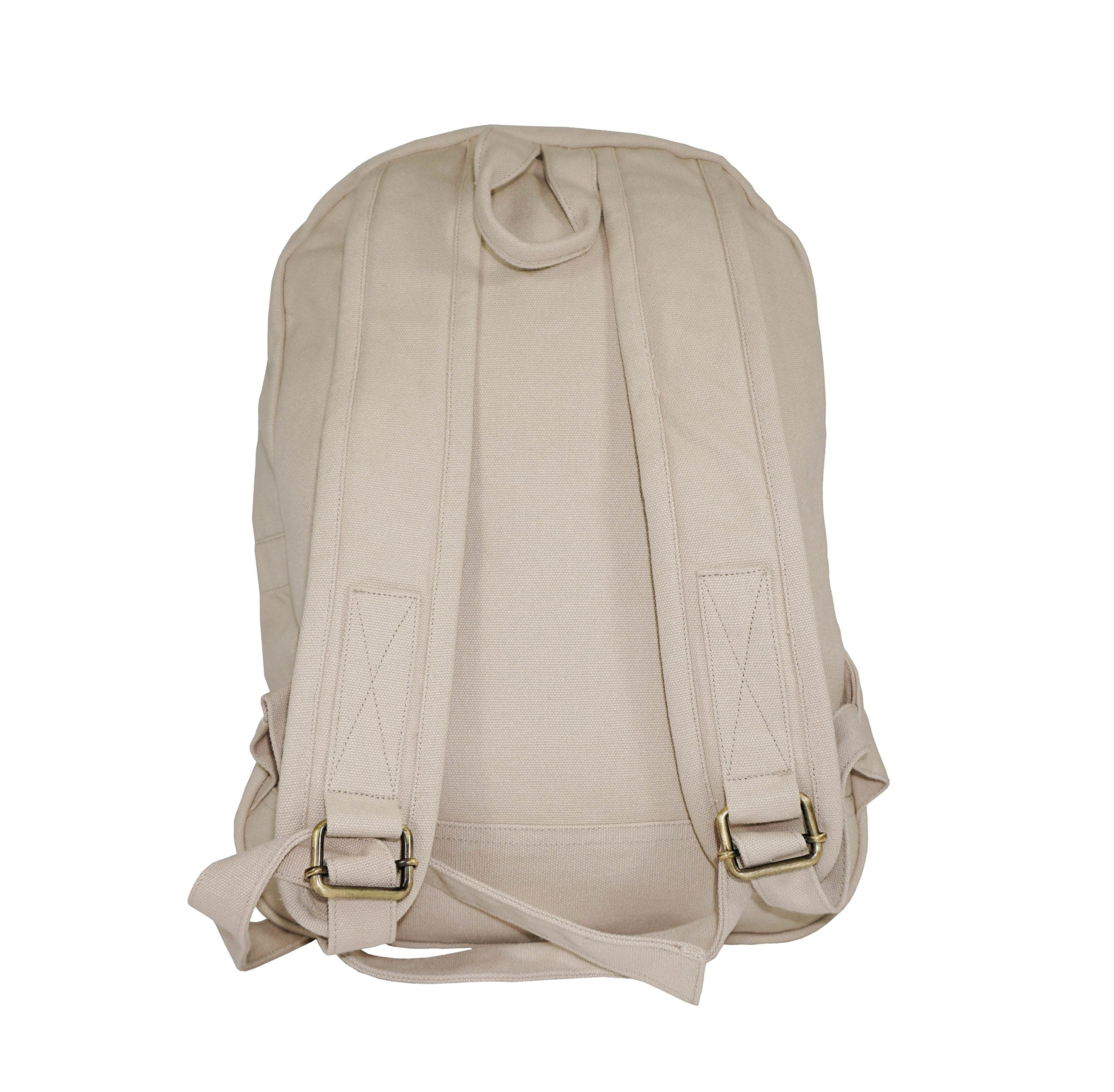 GOTS & Fair Trade certified. Environmental friendly backpack for men and women. by Terra Thread (Image #3)