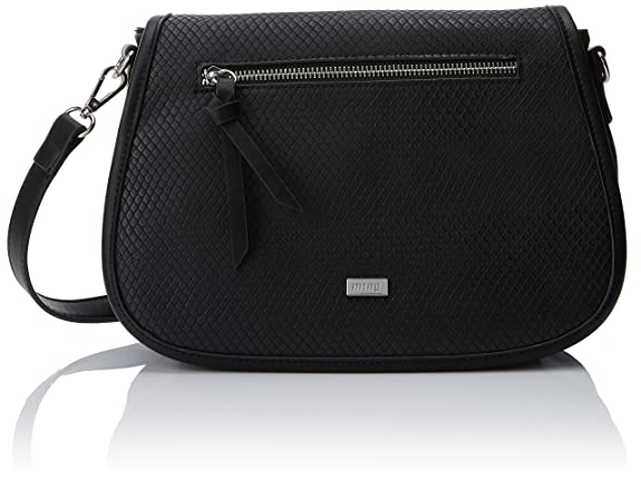 Colly, Womens Cross-Body Bag, Negro (Noru Negro), 23x22x7.5 cm (W x H L) Mtng