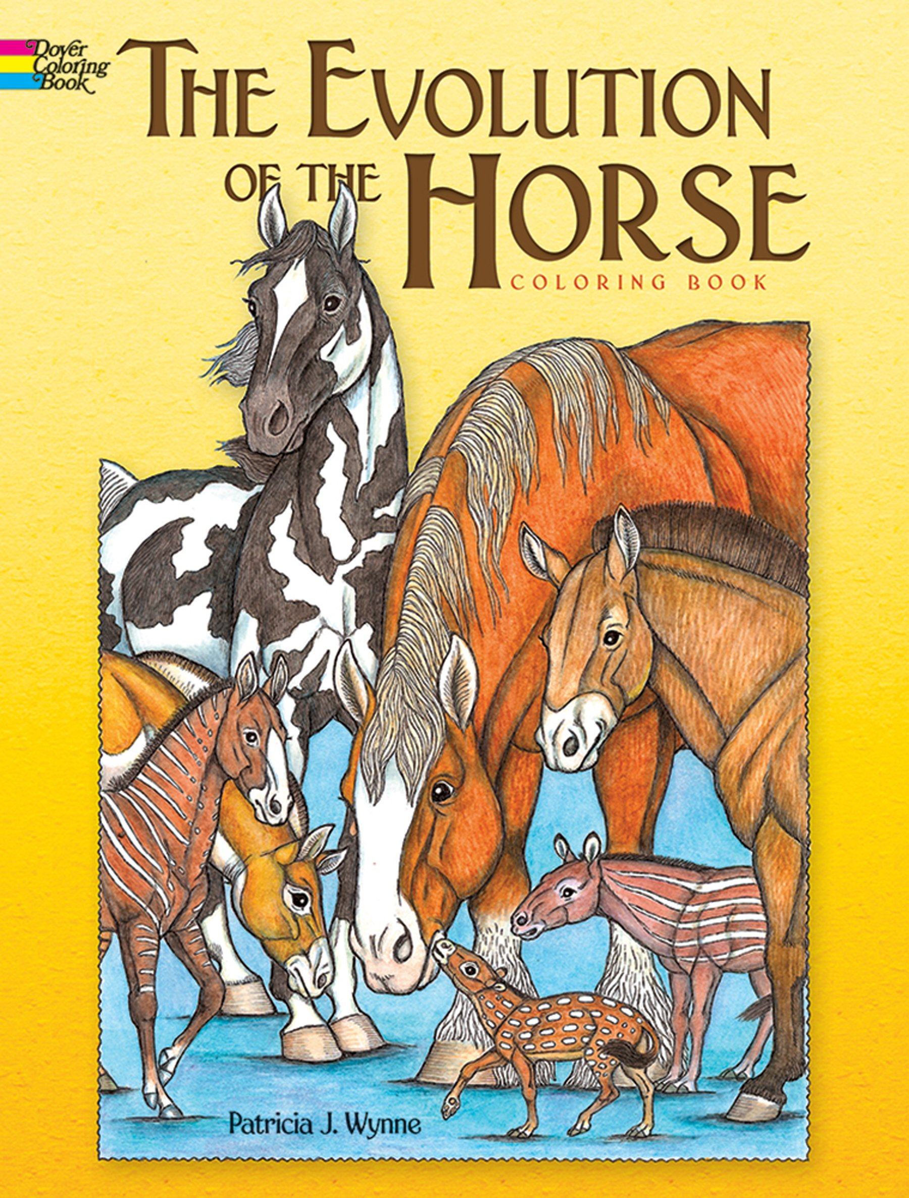 The Evolution of the Horse (Dover Nature Coloring Book ...
