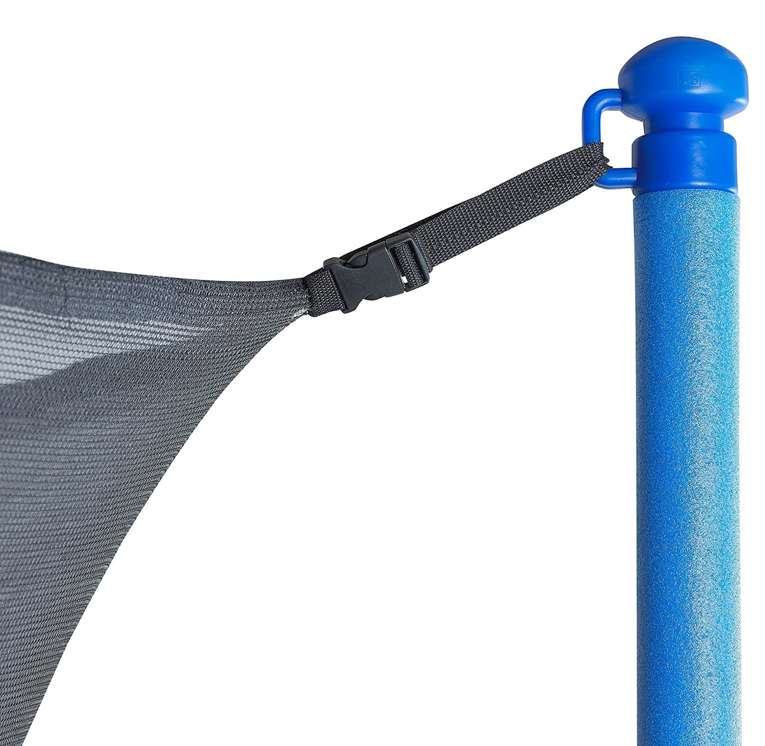 amazoncom upper bounce 14u0027 trampoline net replacement safety netting fence fits 14 ft round frames using 6 poles or 3 arches poles not included toys u0026