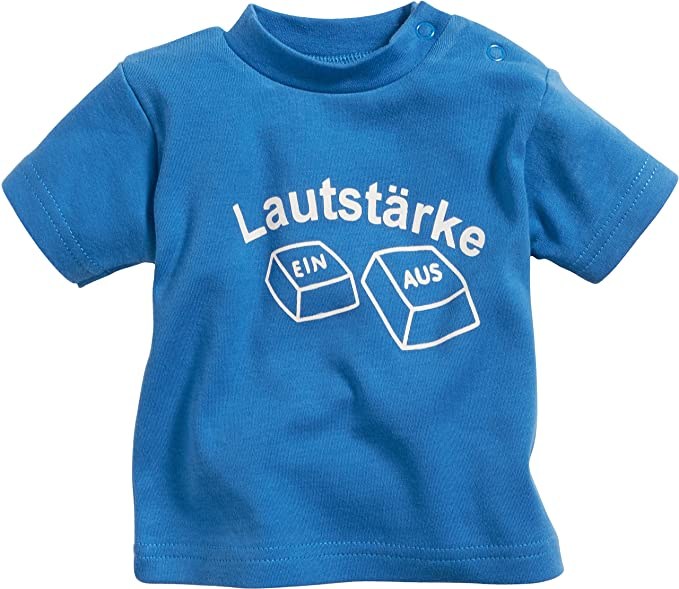 Schnizler Unisex Baby Interlock Lautst/ärke T-Shirt