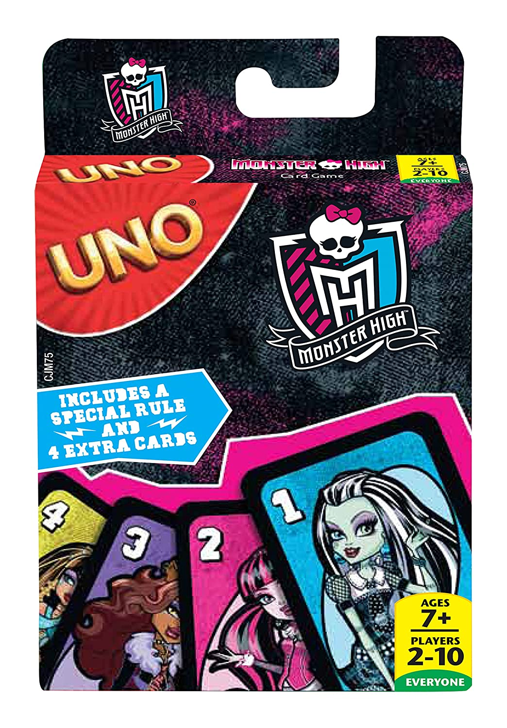 Mattel Games UNO Monster High