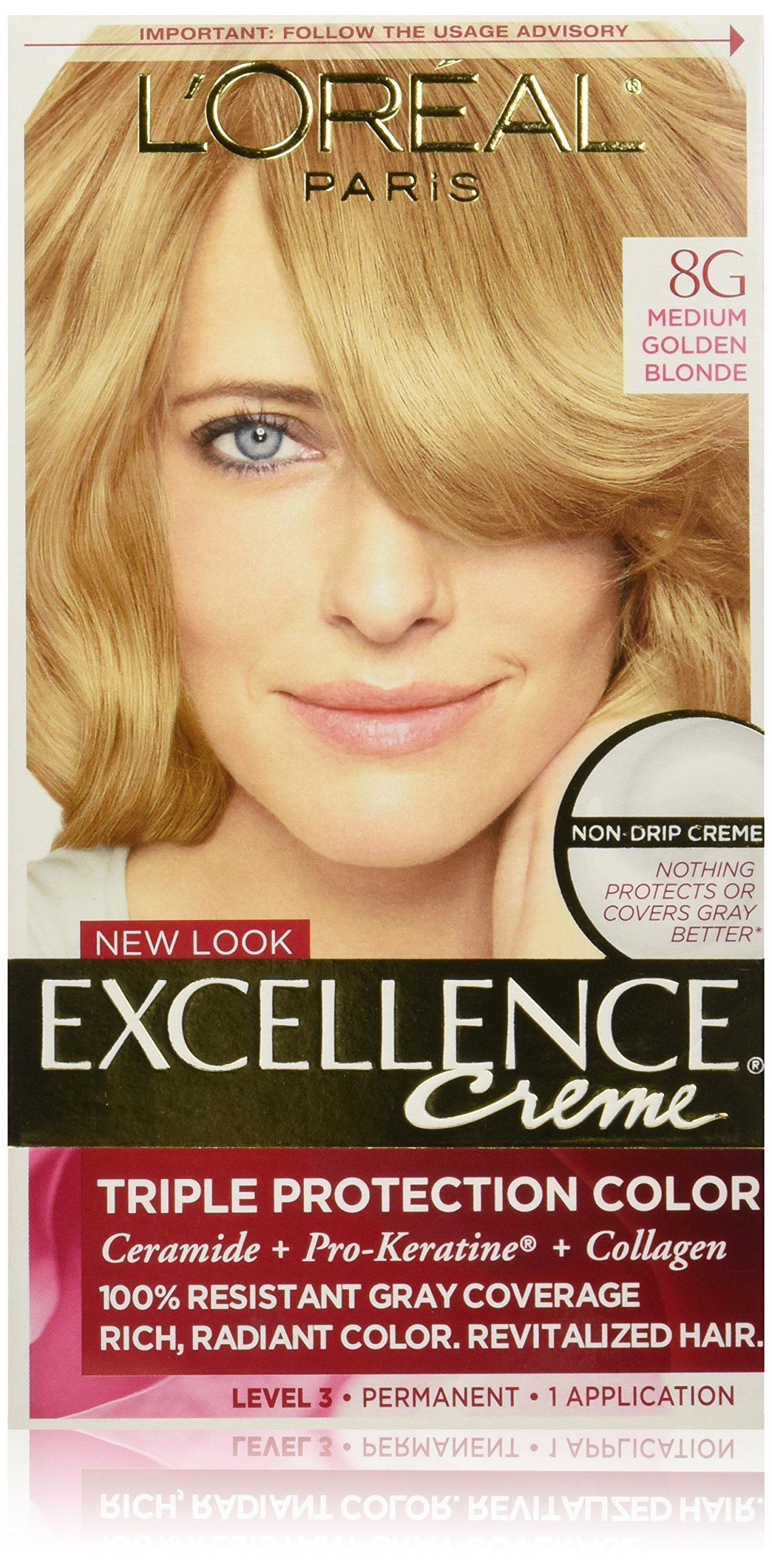 Amazon Loral Paris Excellence Crme Permanent Hair Color 8g