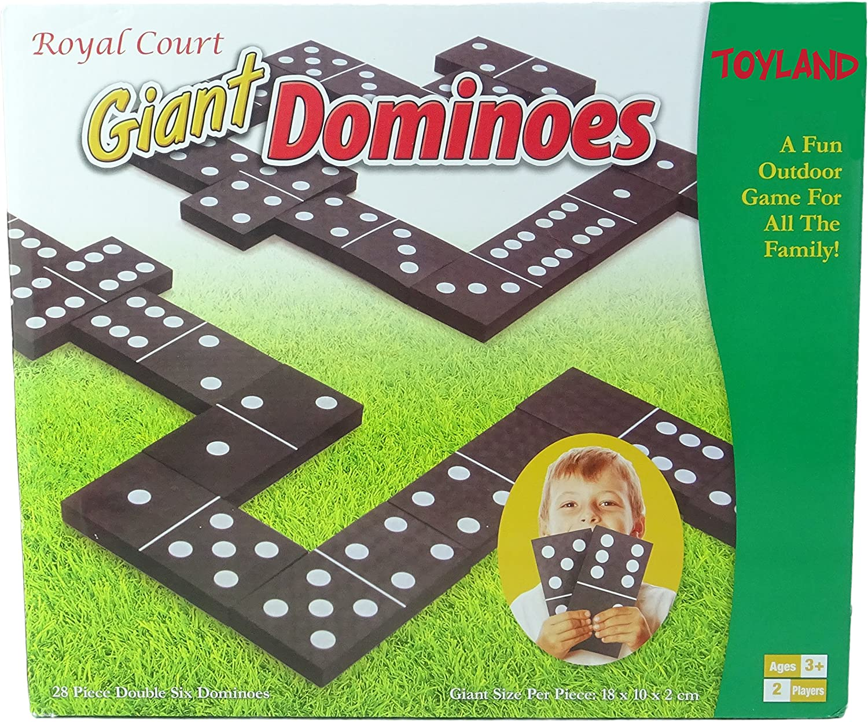 TOYLAND® Giant Dominoes - Juegos al Aire Libre - Juegos de jardín - Juegos Familiares: Amazon.es: Juguetes y juegos