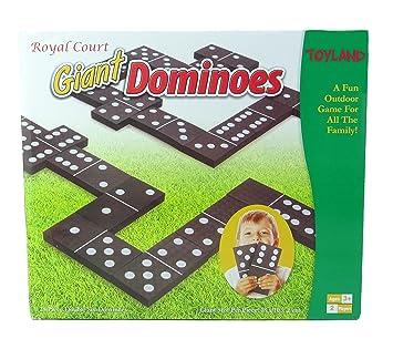 Toyland Giant Dominoes Juegos Al Aire Libre Juegos De Jardin