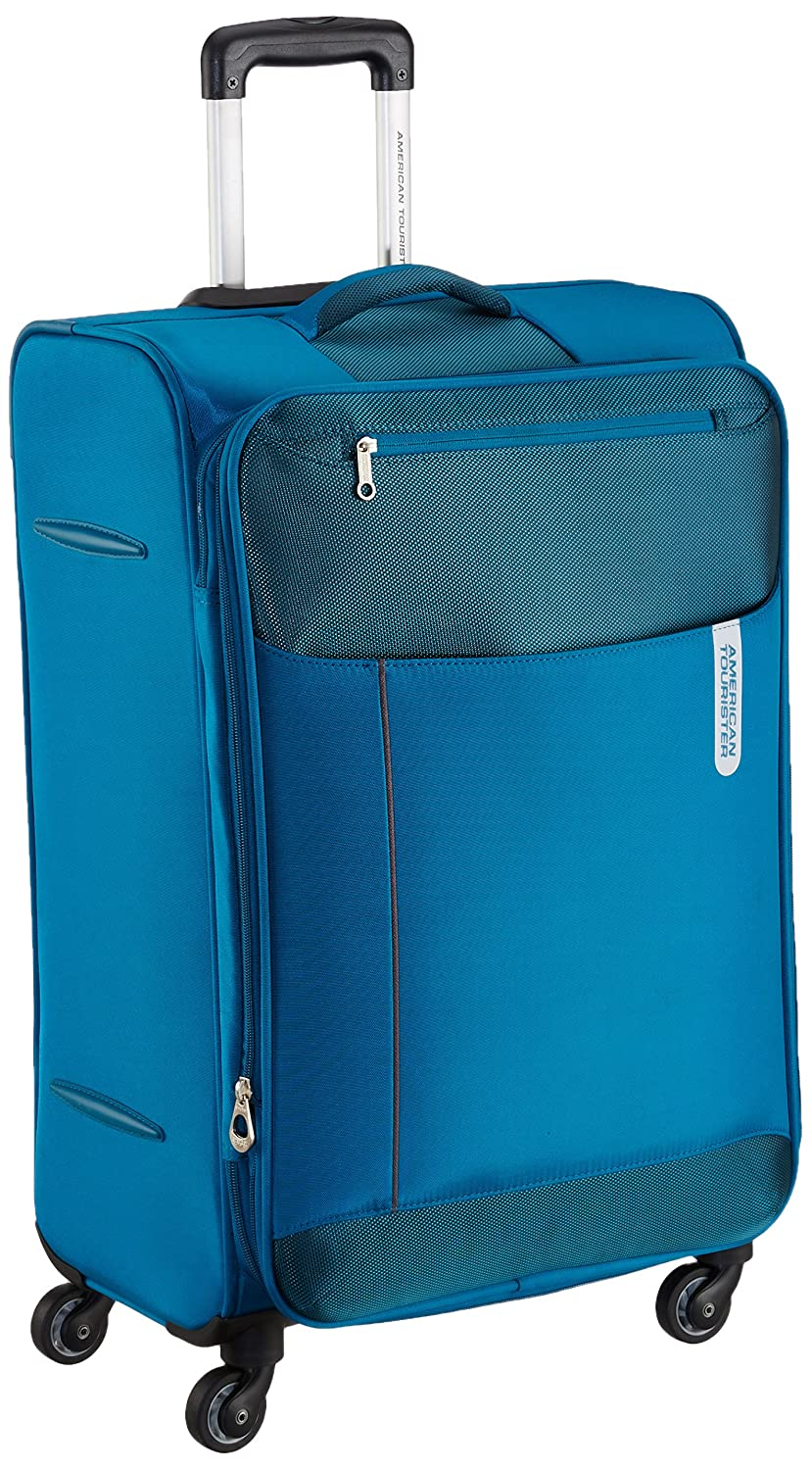 American Tourister Portugal Polyester 79 cms Teal Soft Sided