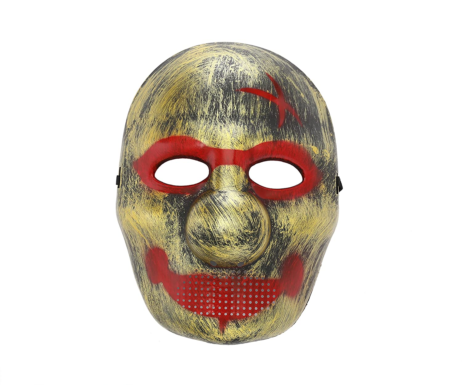 Komonee Big Nosed Smile oro Costume Halloween Mask (Pack Of 3) (HM9)