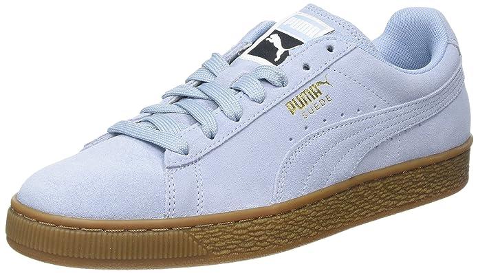 Puma Suede Classic Sneaker Damen Herren Unisex Hellblau