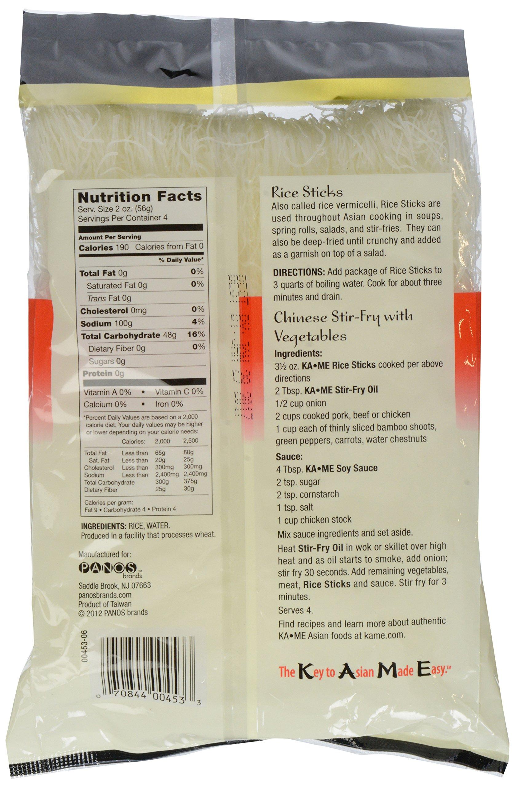 Ka'me Rice Stick Noodles, 8 oz by Ka-Me (Image #4)