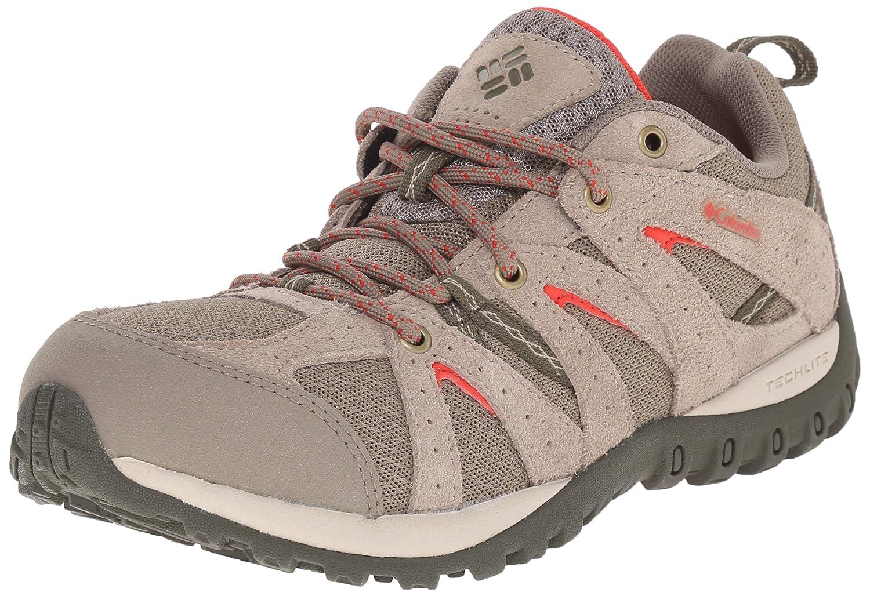 Columbia Women's Grand Canyon Trail Shoe B01015OQ8A 9 B(M) US|Pebble/Poppy Red
